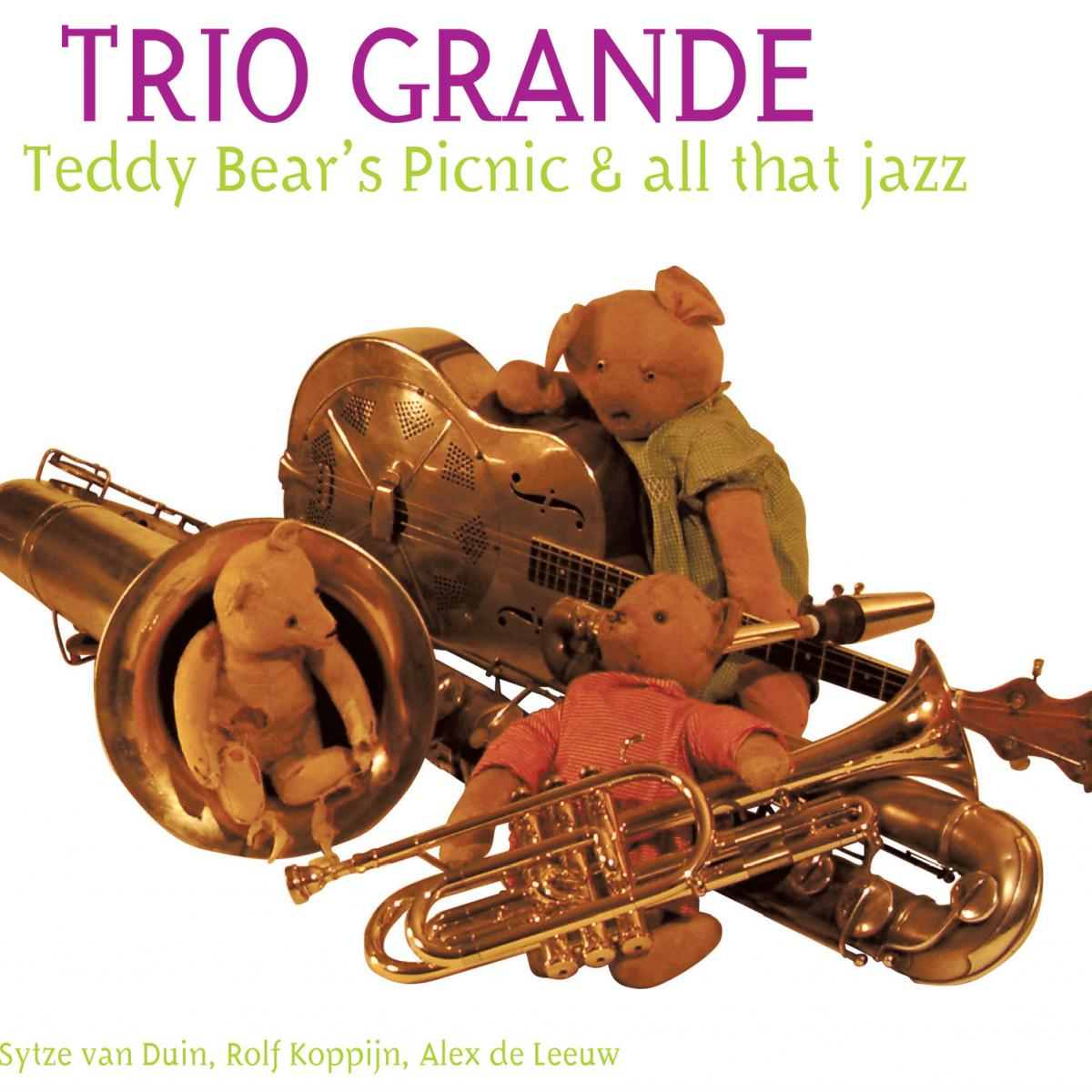 cover van CD: A Teddy Bear's Picninc & All that jazz